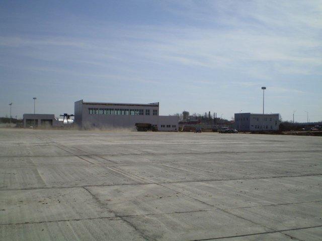 Строительство терминала